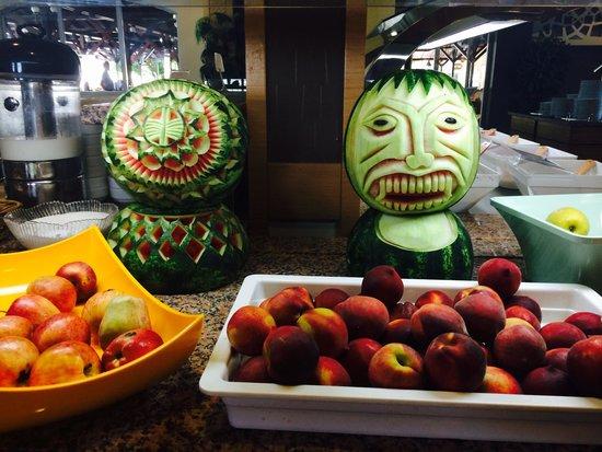 Julian Club Hotel: The watermelon carvings