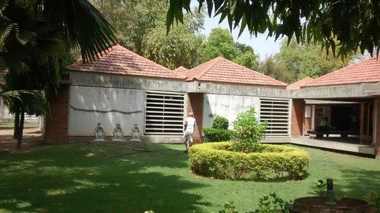 Sabarmati Ashram / Mahatma Gandhi's Home: Garden area