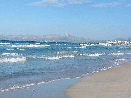 Playa de Muro Beach: Beach near Can Picafort