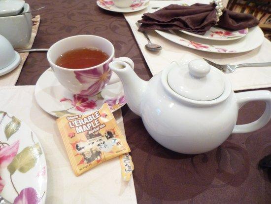 B&B La Petite Prune : メープル紅茶