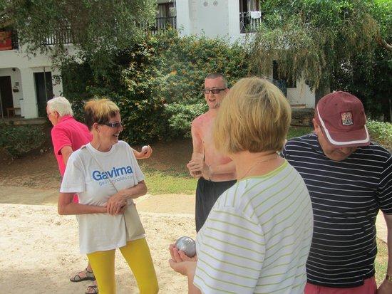 Gavimar Cala Gran Costa del Sur Hotel & Resort: boules