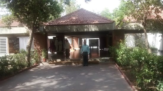 Sabarmati Ashram / Mahatma Gandhi's Home: Exhibition entrance