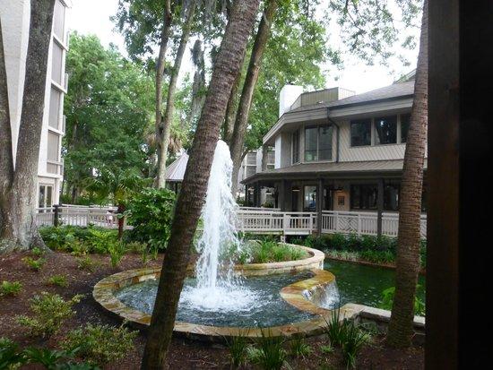 Omni Hilton Head Oceanfront Resort: Springbrunnen