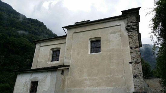 Palazzo Vertemate Franchi: Chiesa