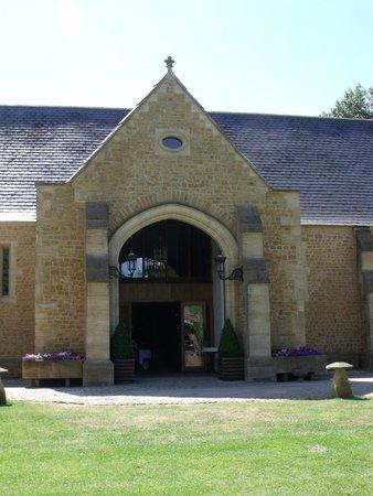 Haselbury Mill: Tythe barn