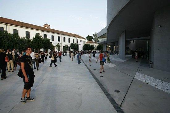 MAXXI - Museo Nazionale Delle Arti del XXI Secolo: la grande piazza/giardino