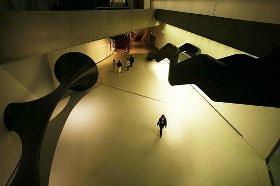 MAXXI - Museo Nazionale Delle Arti del XXI Secolo: la grande zona d'ingresso