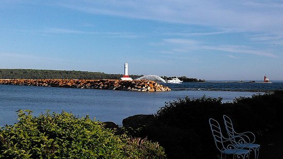 Carriage House: view of the Lighthouse