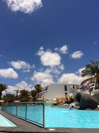 La Penita Apartments : pool area