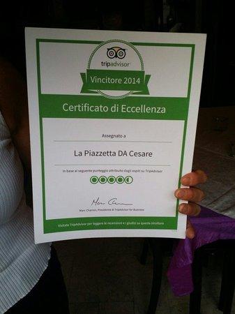 Sferracavallo, Italië: Lo staff della piazzetta ringrazia di vero cuore tutti.