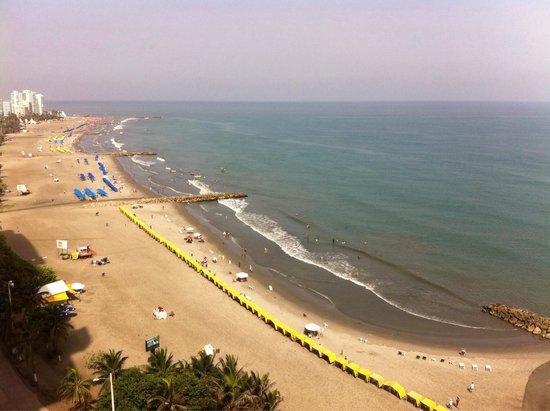 Hotel Capilla del Mar : Vista desde el Piso 15!