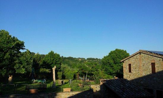 Agriturismo Madonna delle Grazie : dalla terrazza