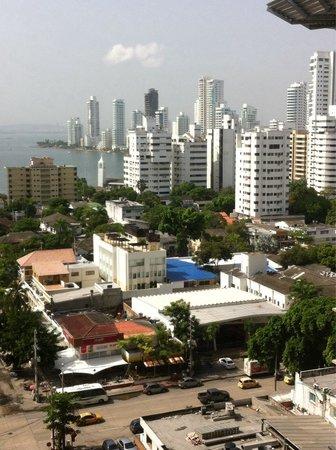 Hotel Capilla del Mar : Vista a la Bahía...