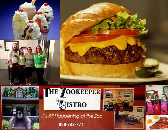 Zookeeper Bistro : Some of what's available