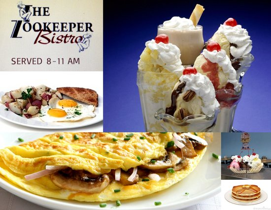 Zookeeper Bistro : Some photos - collage