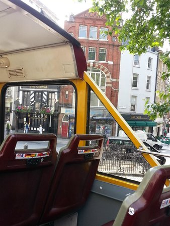 Big Bus Tours - London: From the top of the bus