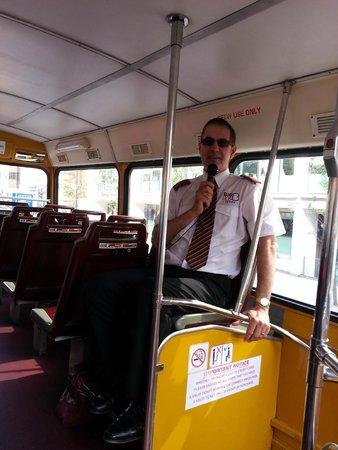 Big Bus Tours - London: Garreth