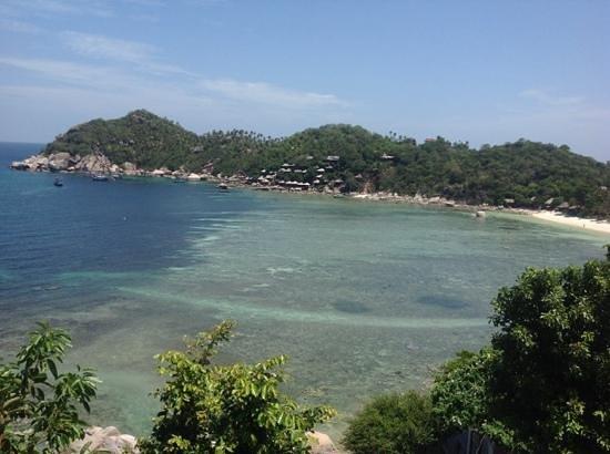 Jamahkiri Resort & Spa : udsigten fra balkonen på værelse 6.