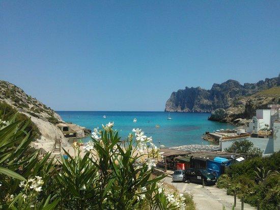 Hotel Cala Sant Vicenc: Beach area