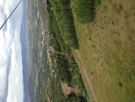 Utah Olympic Park: View from the Zip Line