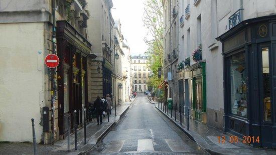 Le Marais: Bairro bastante residencial