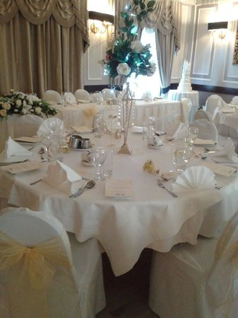 The Original Rosslyn Inn : Wedding breakfast