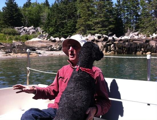 Old Quarry Ocean Adventures: Captain Bill and his First Mate, Johnny