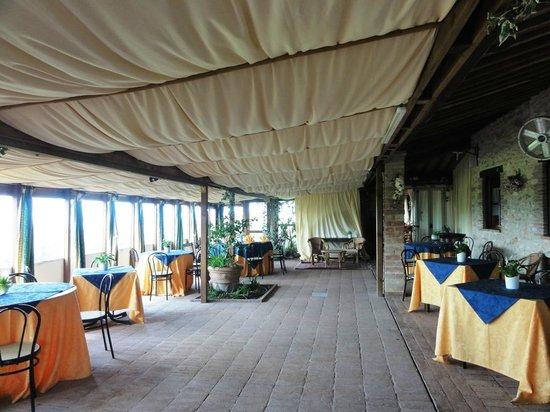 Agriturismo La Casella: Una delle sale da pranzo