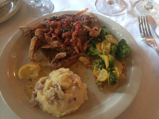 Owl Cafe: Soft shelled crab special