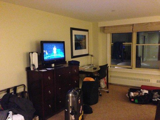 The Limelight Hotel: Quarto espaçoso