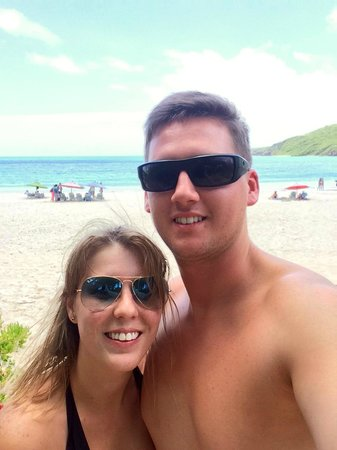 Playa Flamenco: beach