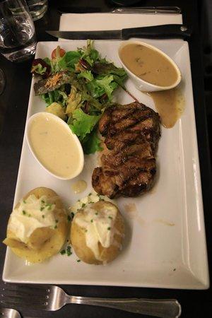Meet Meat Schuman : beef sirloin steak