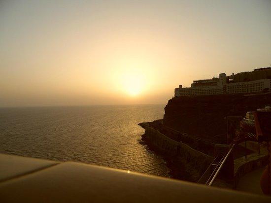 Gloria Palace Amadores Thalasso & Hotel : Sun set
