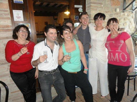 Agriturismo La Casella : lo Staff quasi al completo