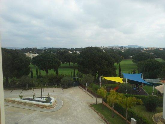 Four Seasons Vilamoura: Playground and parking area
