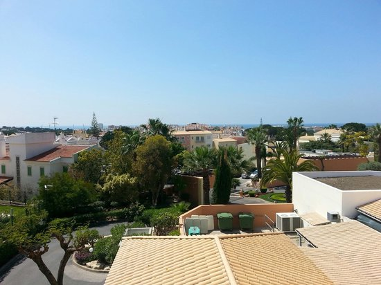 Four Seasons Vilamoura: View on town and sea