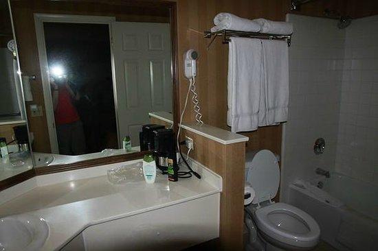 Clarion Suites: Das separate Badezimmer