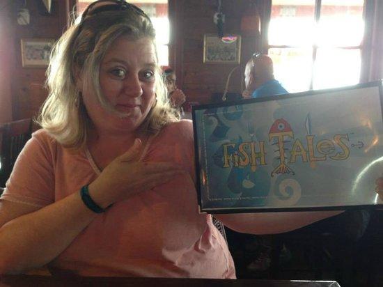 Me at Fish Tales!
