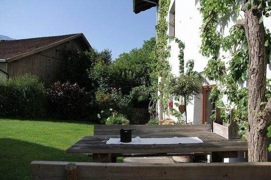 Hotel Der Brandstetterhof: Garten