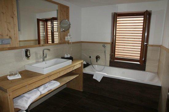 Hotel Der Brandstetterhof: Badezimmer