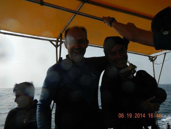 Nautilus Diving & Training Center : Octavio and Clemente