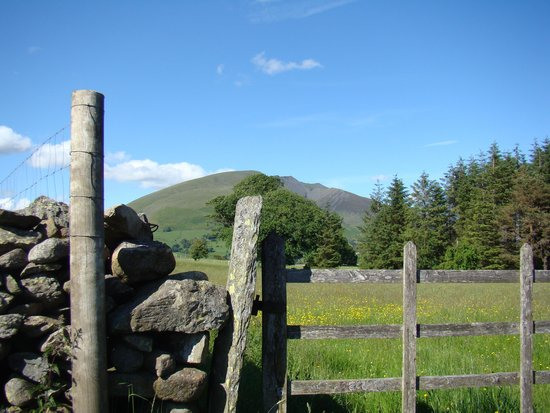 Castlerigg Hall Caravan and Camping Park: Close to the stone circle ...