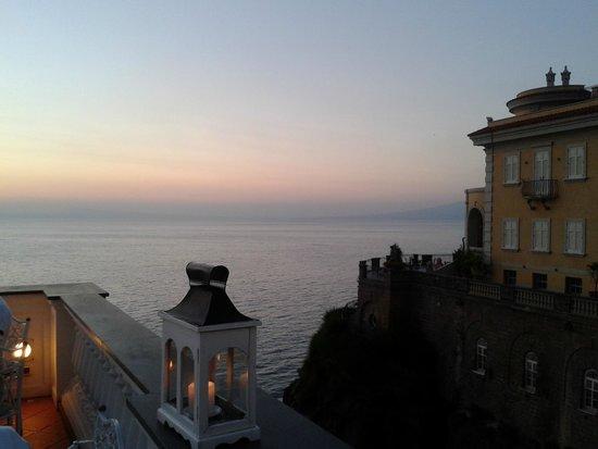 Hotel Corallo Sorrento: Terrazza adibita per la cena