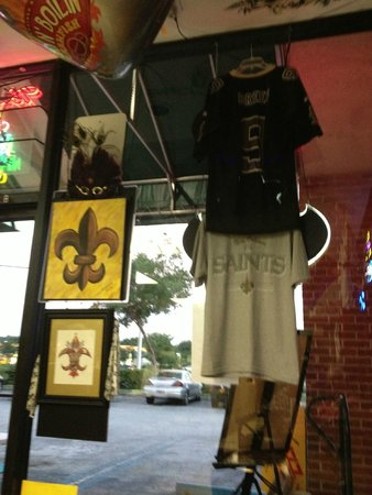 Gumbo YaYa's East : The owner's are true New Orleans Fans through and through