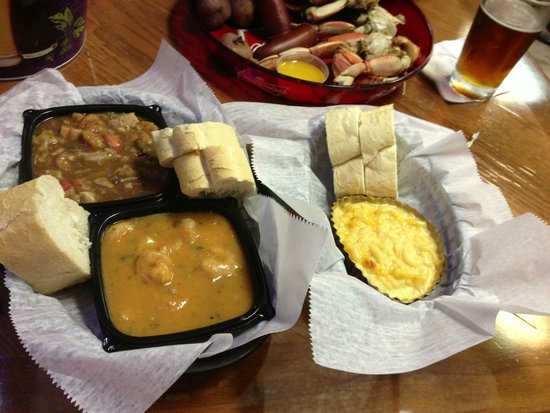 Gumbo YaYa's East: Gumbo Ya-Ya's Trios Choix is a great way to get introduced to their flavors.