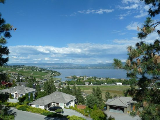 A Lakeview Heights Bed & Breakfast: View from the balcony
