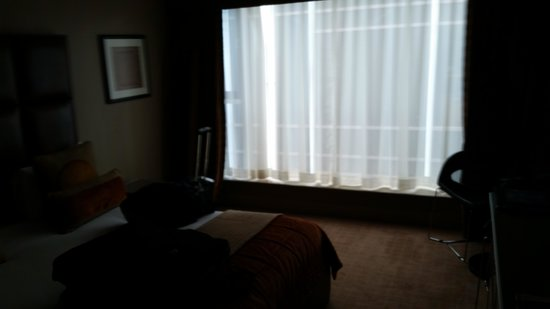 Radisson Blu Edwardian Heathrow Hotel: Worthless room view.