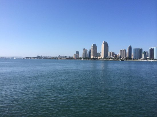 Loews Coronado Bay Resort : View from ferry pier.