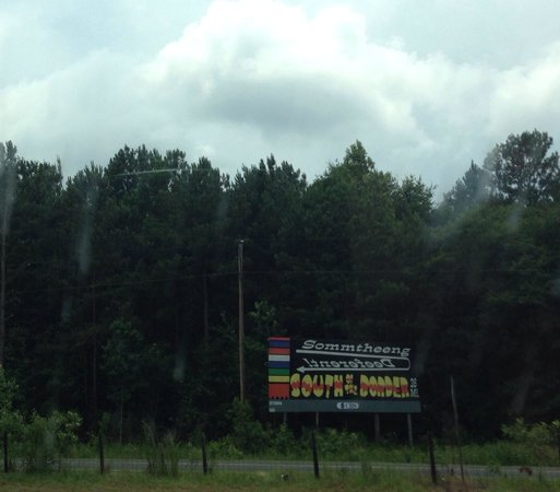 South of the Border: 100s of billboards marking the way