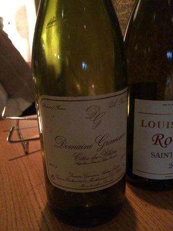 Itineraires : Excellent wine!